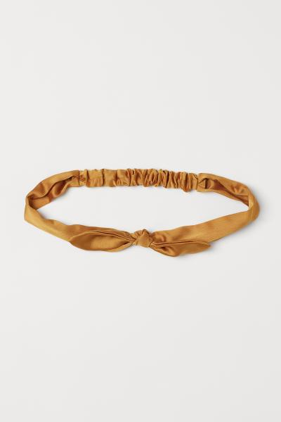 H&M - Tie-detail hairband - 1