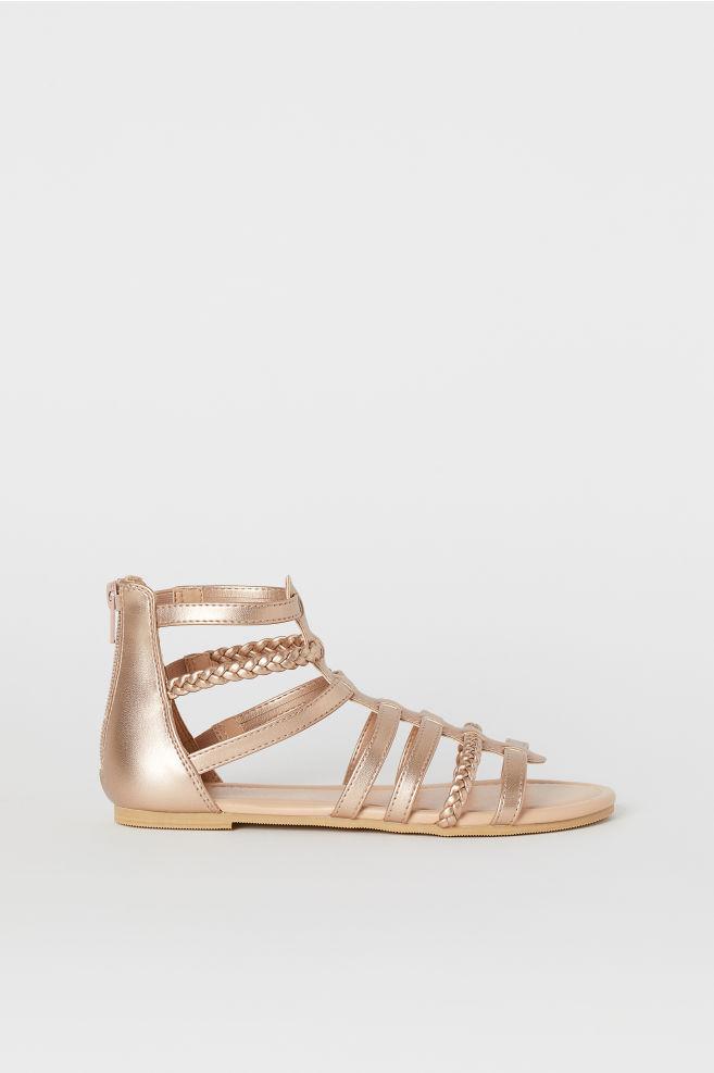 e0a9a608fd65 Sandals - Rose gold-colored - Kids
