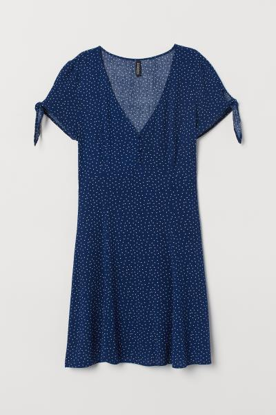 H&M - V-neck dress - 5