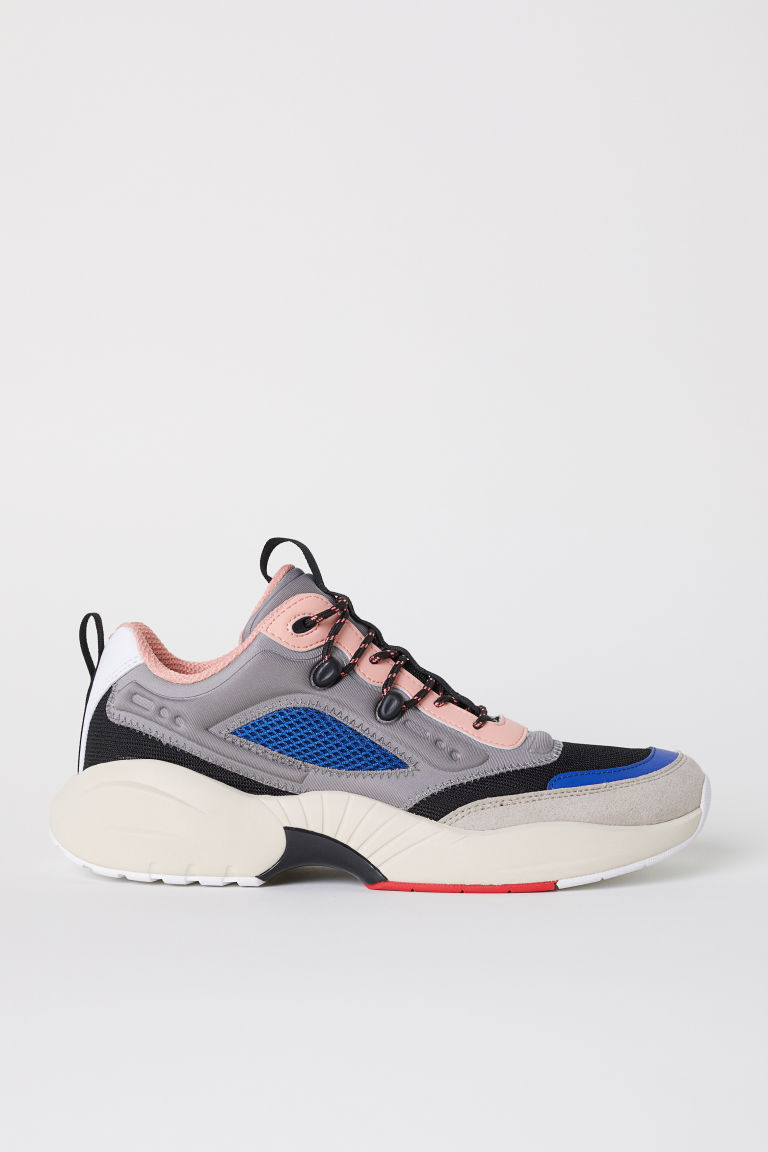 Trainers - Beige/Multicoloured - Men | H&M