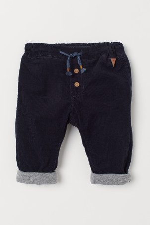 Fully Lined Corduroy PantsModel