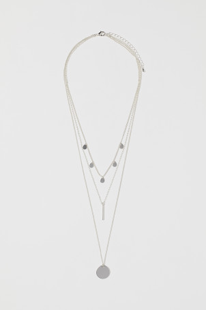 Triple-strand NecklaceModel