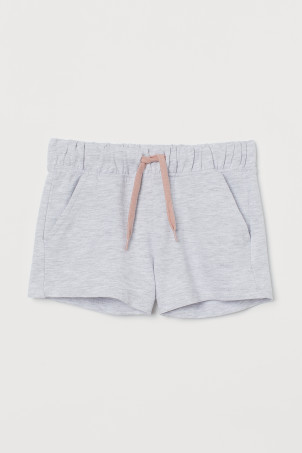 Cotton sweatshirt shorts
