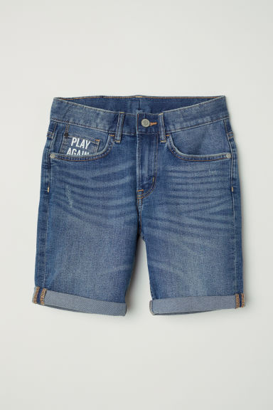Denim shorts - Denim blue - Kids | H&M CN