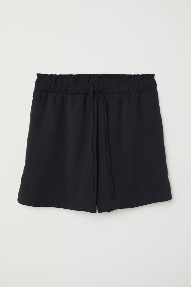 Korte short - Zwart - DAMES | H&M BE