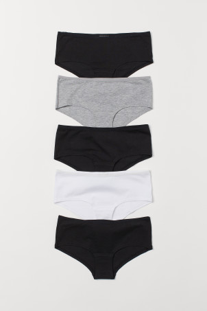 5-pack cotton hipster briefs