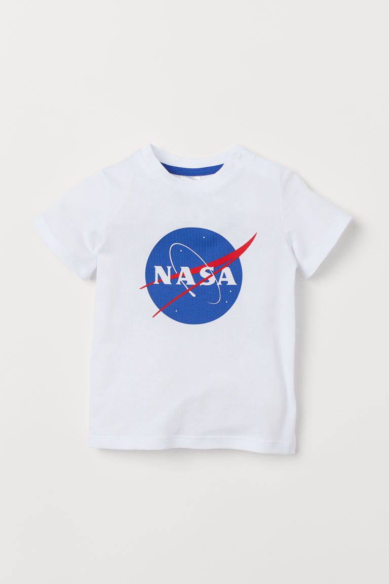 T-Shirt - Weiß/NASA - Kids | H&M AT