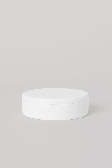 Marble Box - White/marble - Home All | H&M CA