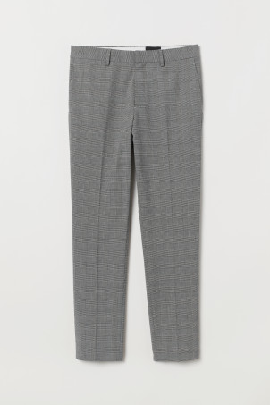 Skinny Fit Suit Pants