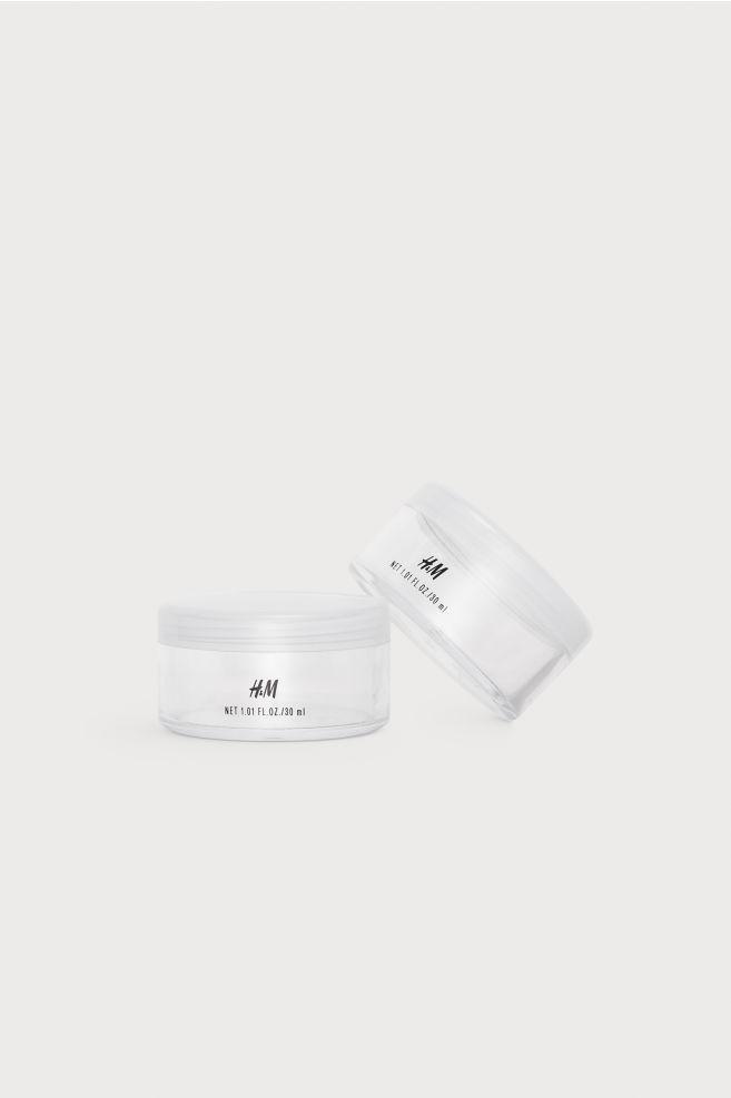 1b6e65d6a7ac5 Travel jar, 2-pack - Transparent - Ladies | H&M ...