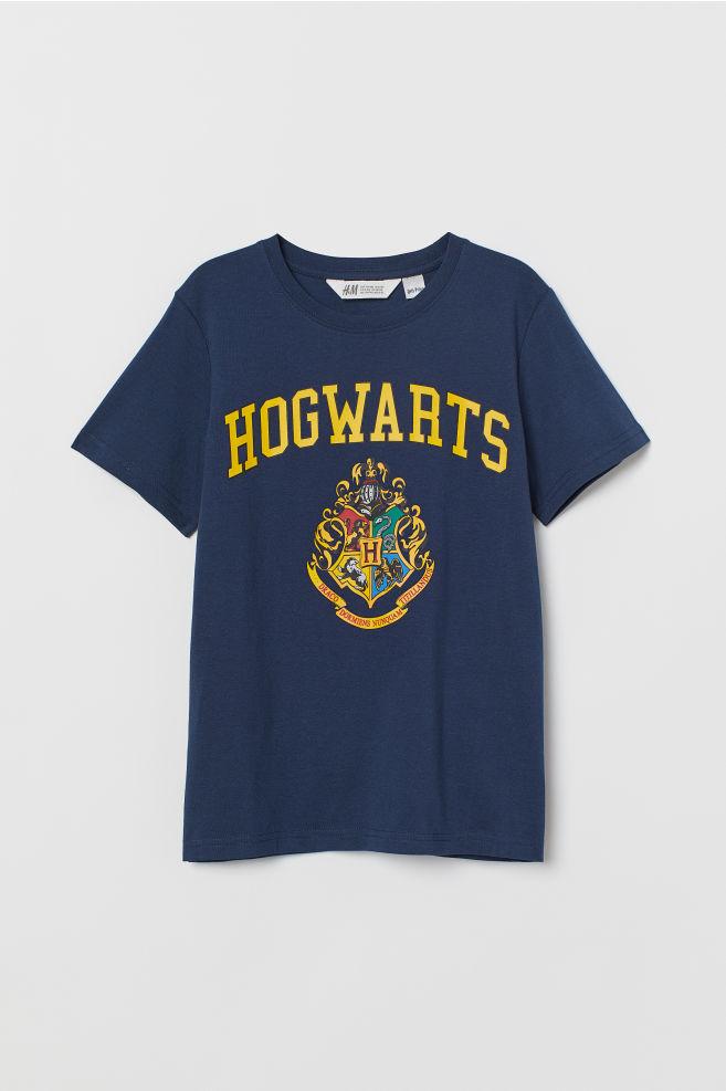 451772cac776f ... T-shirt avec impression - Bleu foncé Harry Potter - ENFANT
