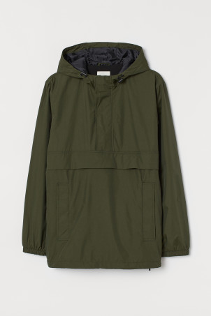 Fleece-lined Anorak