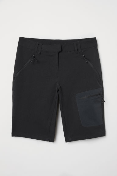 Outdoor shorts - Black - Ladies | H&M CN