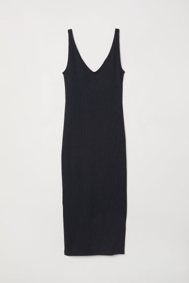 Bodycon dress - Black - Ladies | H&M CN