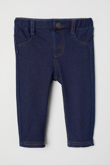 Leggings in denim - Blu denim scuro - BAMBINO | H&M IT