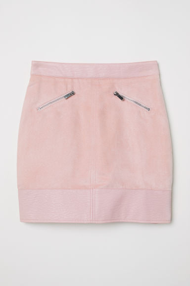 Short skirt - Powder pink -  | H&M