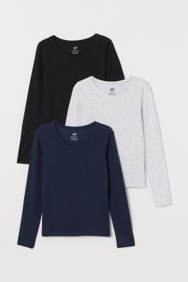 1d3b3748af04 Tops und T-Shirts für Mädchen – Größe 134-170 - Online kaufen | H&M DE