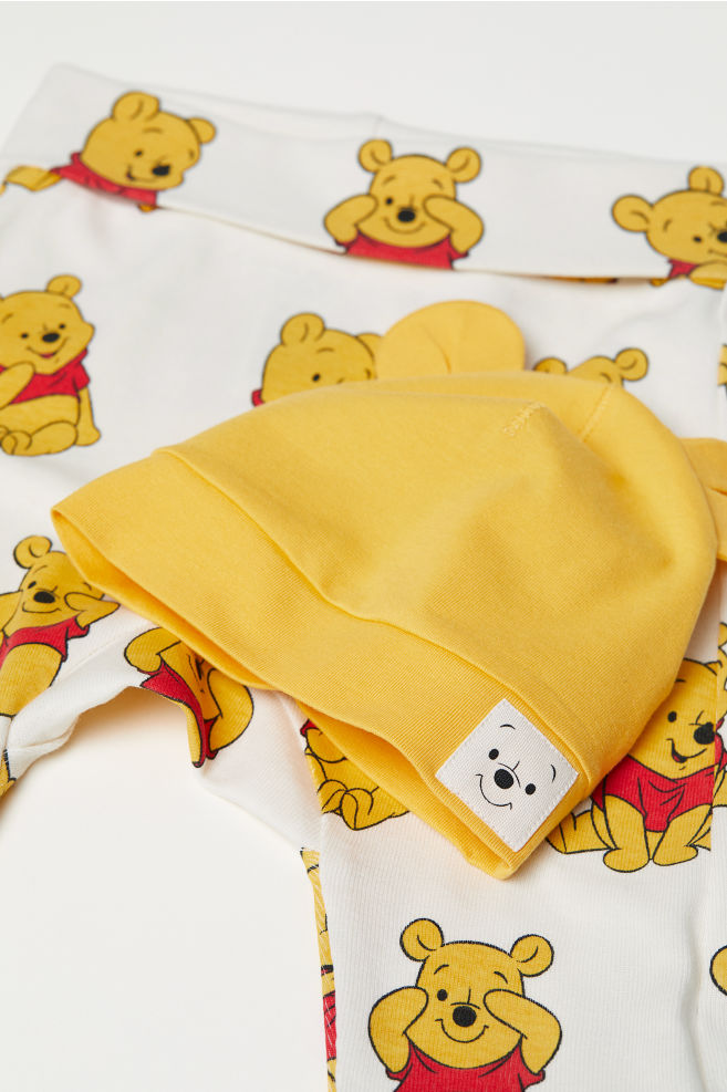 aea56184a98 ... 3-piece Jersey Set - Yellow Winnie the Pooh - Kids