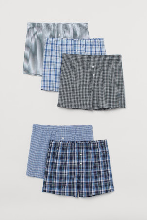 5-pack Woven Boxer Shorts