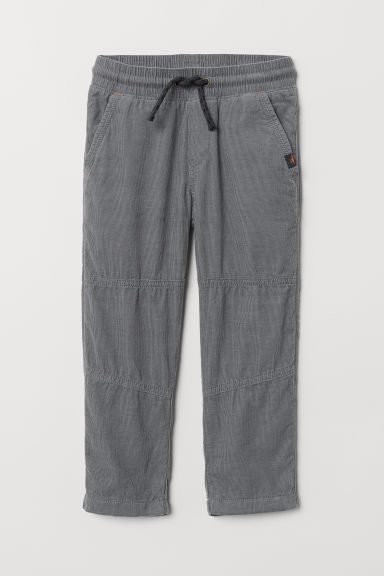 Jersey-lined trousers - Grey - Kids | H&M CN