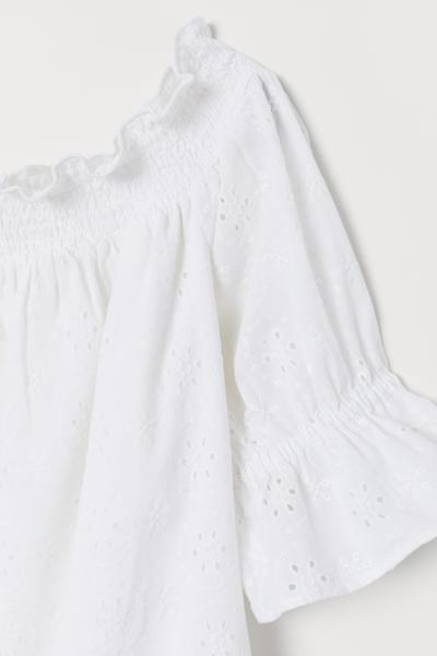 H&M - Off-the-shoulder cotton dress - 2