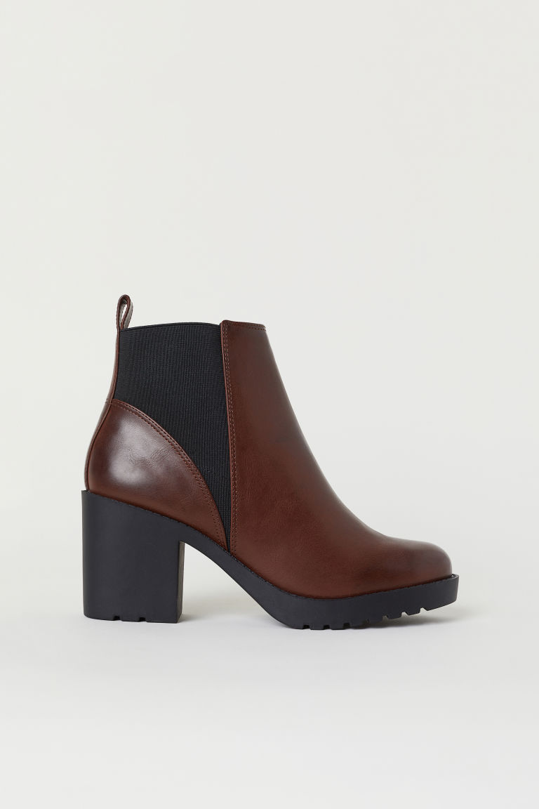 Ankle Boots - Brown -  | H&M CA