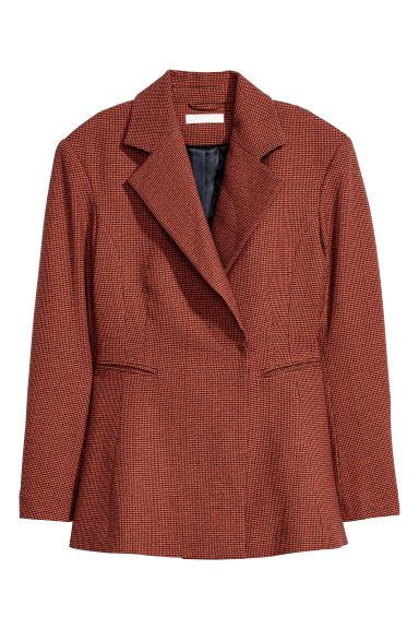 Fitted jacket - Orange - Ladies | H&M