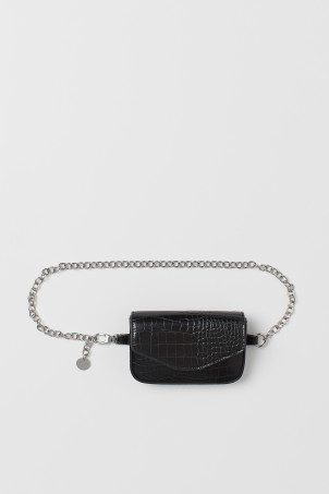 Metal-chain Belt Bag