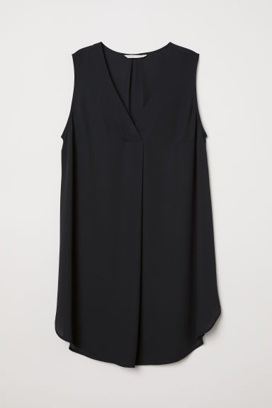 MAMA Sleeveless tunic - Black - Ladies | H&M CN