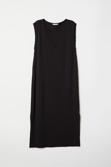 Sleeveless dress - Black - Ladies | H&M CN