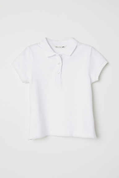 Polo - Wit - KINDEREN | H&M BE