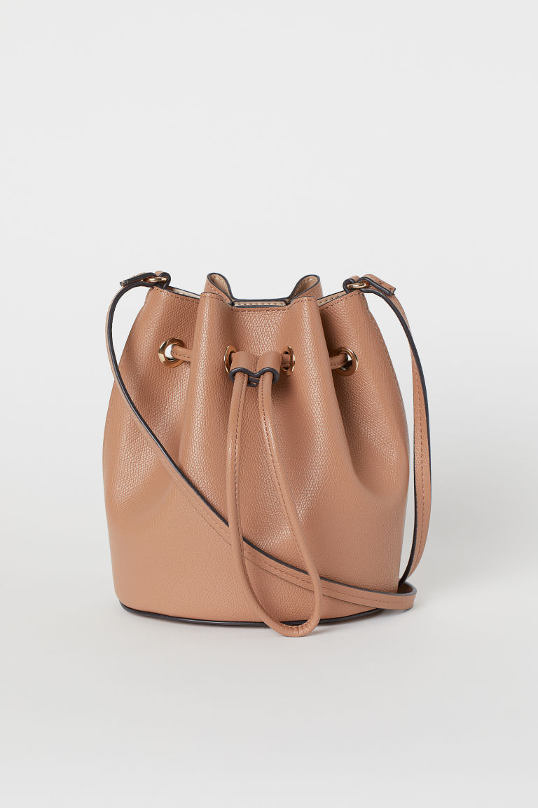 Small bucket bag - Dark beige - Ladies | H&M