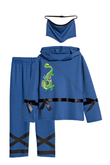 Fancy dress costume - Dark blue/Ninja - Kids | H&M