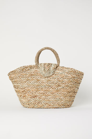 Straw bag - Natural - Ladies | H&M CN
