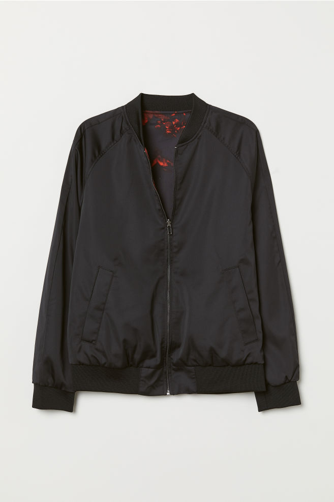 100c71d92 Reversible bomber jacket