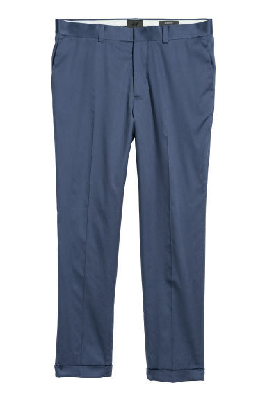 Suit trousers Skinny fit - Pigeon blue - Men | H&M