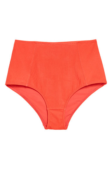 Bikini bottoms High waist - Orange -  | H&M
