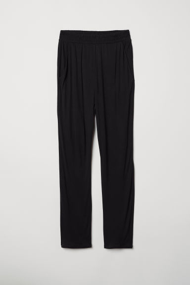 Jersey trousers - Black - Ladies | H&M