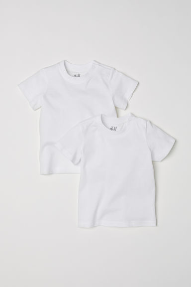 2-pack T-shirts - White - Kids | H&M