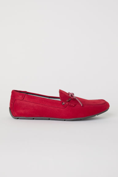 Loafers - Red - Men | H&M CN