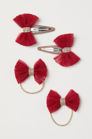 Hair set - Red/Gold-coloured - Kids | H&M