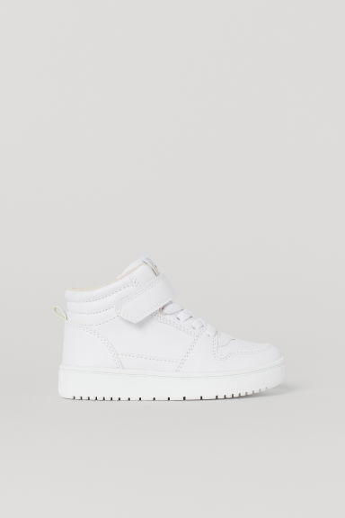 Hi-top trainers - White/Unicorn - Kids | H&M CN
