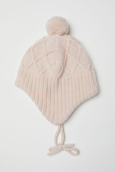 Fleece-lined hat - Powder pink - Kids | H&M CN
