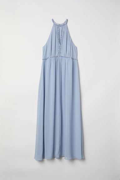 H&M+ Long dress - Light blue - Ladies | H&M