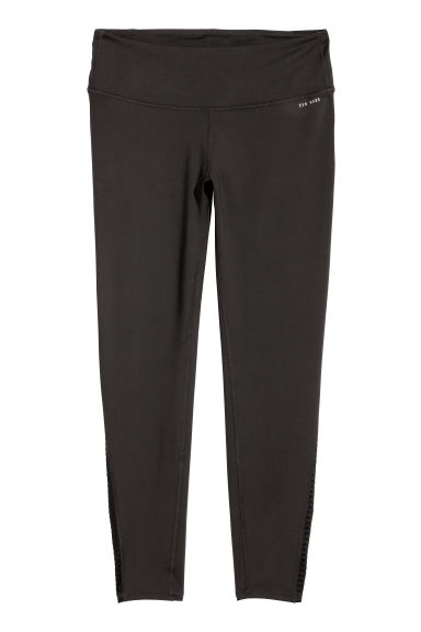 H&M + Shaping yoga tights - Black - Ladies | H&M IE
