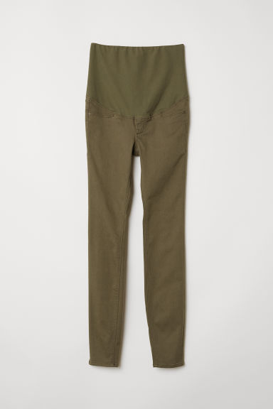 MAMA Treggings - Dark khaki green - Ladies | H&M