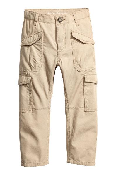 cargo pants dam beige