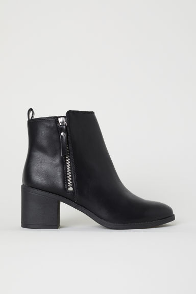 Ankle Boots - Black -  | H&M US