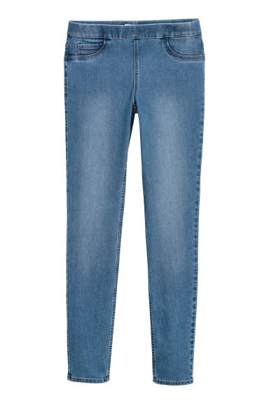 Superstretch treggings - Light denim blue - Ladies | H&M