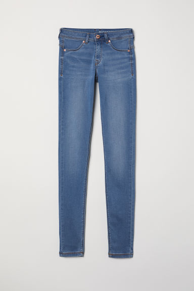 Super Soft Low Jeggings - Blue - Ladies | H&M